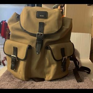 TUMI Backpack Voyager/Travel Brown